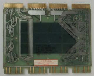 Flip Chip PDP-8 Planar Stack Core memory card DEC computer hardware