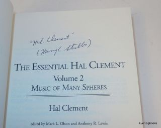 The Essential Hal Clement: Volume 2: Music of Many Spheres