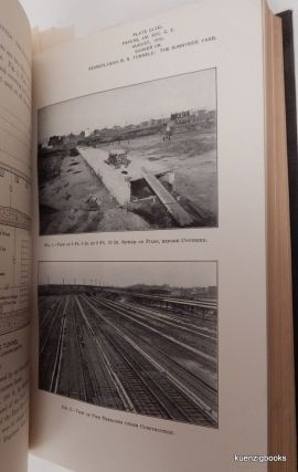 The New York Tunnel Extension of the Pennsylvania Railroad. A bound collection of engineering articles fomr the American Society of Civil Engineers with many diagrams and photographs.