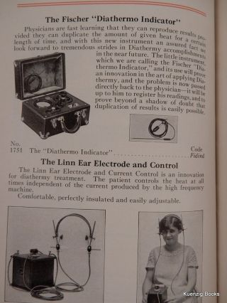 FISCHER Physiotherapeutic and X-Ray Supplies and Accessories ... Catalogue No. 15 June 1st, 1925