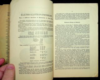 Researches in electro-allotropic physiology : uses of different qualities of electricity to cure disease