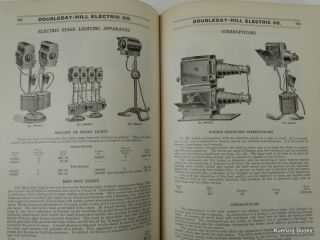 General Catalogue No. 7 Doubleday-Hill Electric Co. Distributors and Manufacturers Electrical Supplies