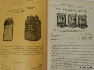 Catalogue Number Twelve : Electrical Appliance Company : Electrical Supplies : Electric Light and Power Supplies, Telephone and Telegraph Supplies, Electric Railway Supplies, and Electrical House Goods, etc...