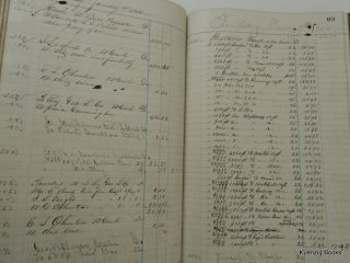 Journal 'D' of William D. Olmsted & Co. September 1, 1863 through June 29, 1864
