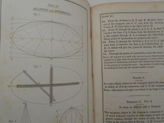 A Text Book of Geometrical Drawing, for the Use of Mechanics and Schools ... with illustrations for drawing plans, sections and elevations of Buildings and Machinery : An Introduction to Isometrical Drawing, and an Essay on Linear Perspective and Shadows : the whole illustrated with Fifty-Six Steel Plates, containing over two hundred diagrams