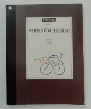 Wheels for the Mind Vol. 2, No. 1 Winter 1986. Apple University at Boston College.