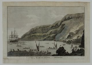 A View of Karakakooa in Owyhee. John Webber, Captain Cook