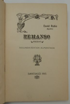 Remanso ; poesias