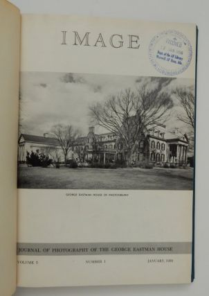 IMAGE: Journal of Photography [ and Motion Pictures ] of the George Eastman House (ten issues, Vol 5, 1956). George Eastman House.