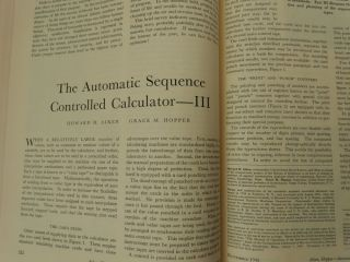 The Automatic Sequence Controlled Calculator I, II, and III