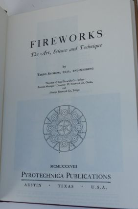 Fireworks: The Art, Science, and Technique