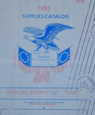 1992 Supplies Catalog [ Firefix Enterprises, Inc. Inc Firefox Enterprises