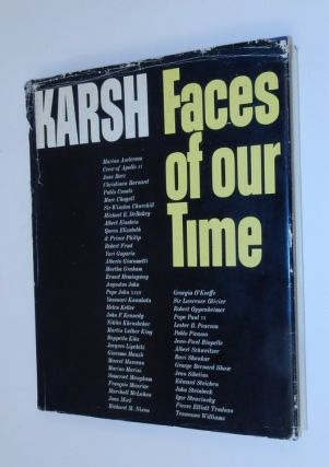 Faces of our Time. Yousuf Karsh