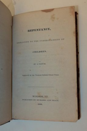 Repentance, Explained to the Understanding of Children