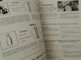 A Reference Manual on Modern Home Laundering of Today's Washables ... Reference Handbook No. 4 New and Revised Edition