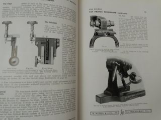 Parts 1 & 2 Catalogue of Microscopes and Accessories manufactured and supplied by W. Watson & Sons Ltd. ... Thirty-third edition. 1928 [ 33rd ]