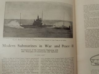 Modern Submarines in War and Peace
