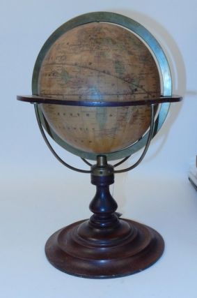 "Rare 7 inch American Terrestrial globe ""The EXCELSIOR"" by Wachob and McDowall of Scranton, PA...."