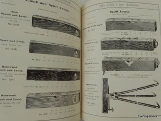 Catalogue of Measuring Rules, Tapes, Straight Edges, and Steel Band Chains ; Spirit Levels, &c. Manufactured by John Rabone & Sons