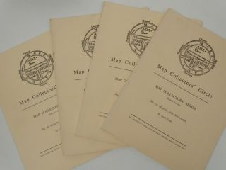 Map Collectors' Series (Eighth Volume), No 76: Maps by John Arrowsmith. Map Collectors' Circle, Coolie Vernier.