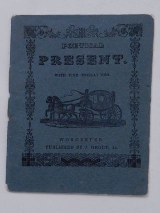 The Poetical present. With Beautiful Engravings. no author