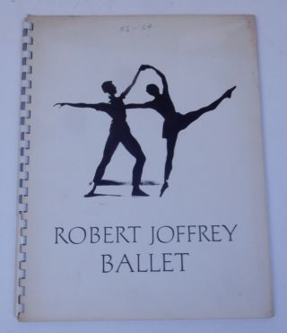 Robert Joffrey Ballet 1956-1964 [ Program for 1965 ]. Robert Joffrey Ballet
