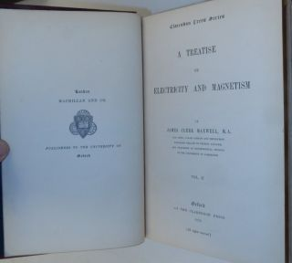 A Treatise on Electricity and Magnetism