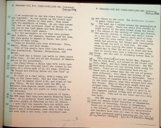 Field Notes on Indonesia : Ambon and Ceram, 1949-1950