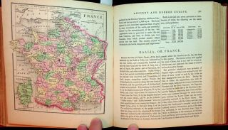 The Diamond Atlas. With descriptions of all countries exhibiting their actual and comparative extent, and theor present political divisions, founded on the most recent discoveries and rectifications. The Eastern Hemisphere. [ Cover title: Morse and Gaston's Diamond Atlas Oriental ]