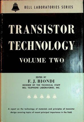 Transistor Technology Volume II [ Two ]. F. J. Biondi
