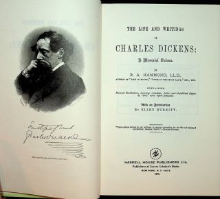 The Life and Writings of Charles Dickens: A Memorial Volume ... Containing Personal...
