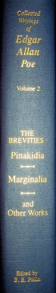 Edgar Allan Poe: The Brevities: Pinakidia, Marginalia, Fifty Suggestions and Other Works. Burton...