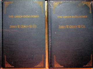 The Queen Catalogues Volumes I and II. James W. Queen, Co, Deborah Jean Warner, introduction