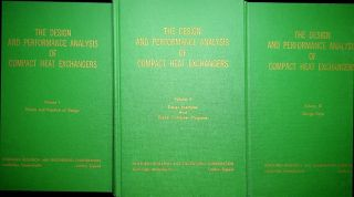 The Design and Performance Analysis of Compact Heat Exchangers [ in three volumes complete ]. D....