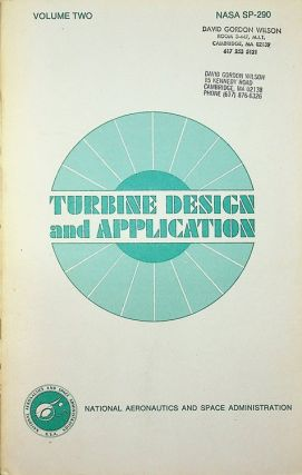Turbine Design and Application NASA SP-290 Volume TWO. Arthur J. Glassman