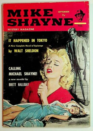 Mike Shayne Mystery Magazine September 1961 Vol 9, No. 4. Mike Shayne, Walt Sheldon, Brett Halliday