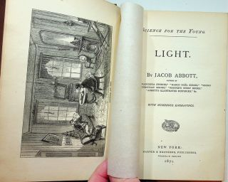Science for the Young : Light ... with numerous engravings