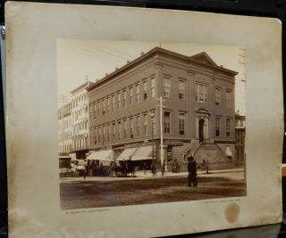 Large photograph by W. Knowlton - the corner of Fourth Avenue and 23rd street, New York City...