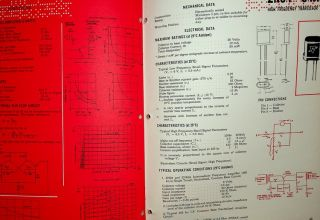 Specially designed tubes and components for ELECTRONIC COMPUTERS by Sylvania