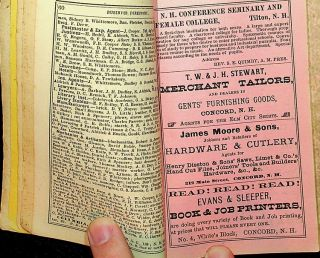 The New Hampshire Register, Farmers' Almanac, and Business Directory, for 1881