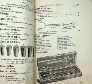 [ Homoeopathy ] Catalogue and Descriptive Price Current of Books, Medicines, and Physicians' Supplies of Every Description