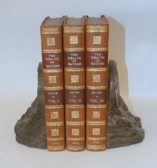 An Inquiry into the Nature and causes of the Wealth of Nations ... the Eleventh edition; with notes, supplementary chapters, and a life of Dr. Smith, by William Playfair. In three volumes.