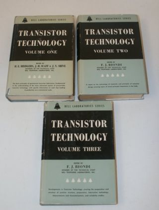 Transistor Technology [ 3 volumes in the scarce dust jackets ]
