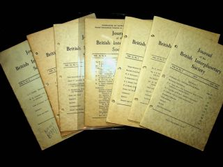 Journal of the British Interplanetary Society - an incomplete run 1948-1955 (28 issues)