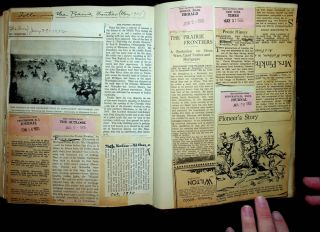 Seth K. Humphrey Archive - Book, approx 200 Photographs Loafing through the Pacific, scrapbook