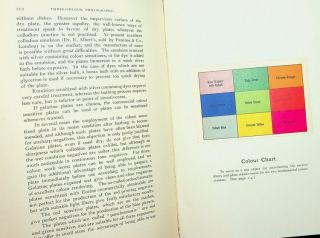 Three-Colour Photography : Three-Colour Printing and the Production of Photographic Pigment Pictures in Natural Colours