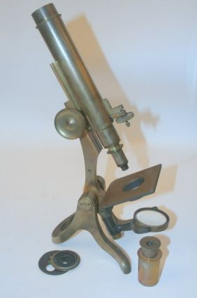 artifact, microscope ] Henry Crouch S/N 4445. Henry Crouch