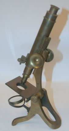 [ artifact, microscope ] Henry Crouch S/N 4445