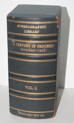 Stereographic Library : A Century of Progress Chicago, 1933 Vol 1 - nearly complete set (41 of a presumed 50 cards)