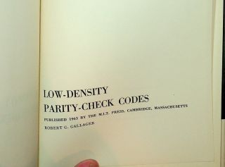 Low-Density Parity-Check Codes